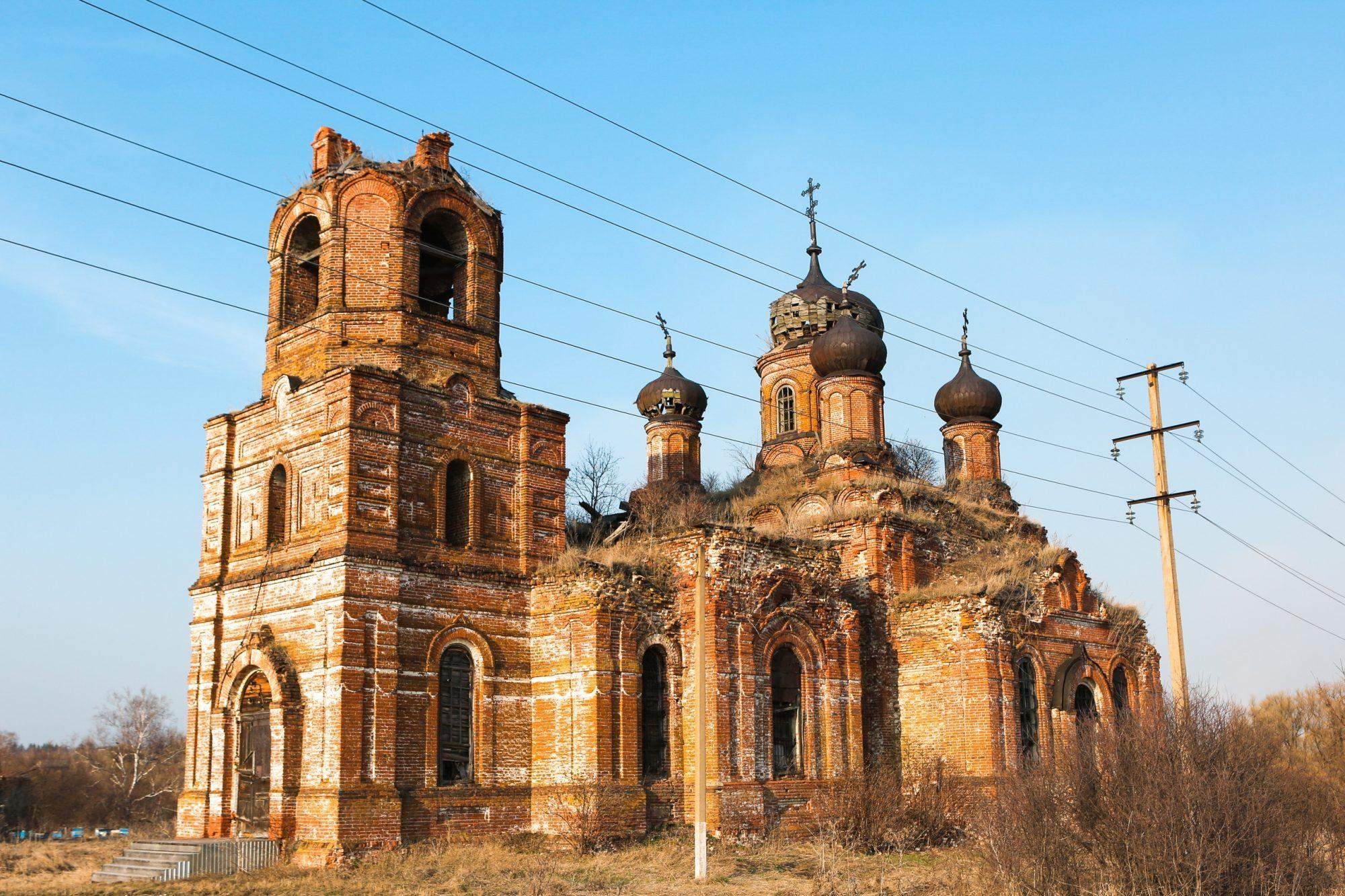 Церковь Дмитрия Солунского в селе Юлово